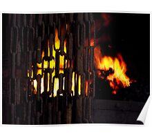 Blacksmiths Furnace Poster