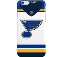 St. Louis Blues Away Jersey iPhone Case/Skin