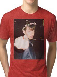 Alex Turner Flower Crown Tri-blend T-Shirt
