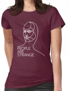 Strange face Womens Fitted T-Shirt