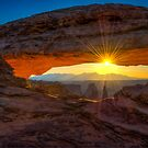 Mesa Arch Sunrise by J. Day