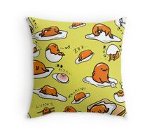 Gudetama Throw Pillow