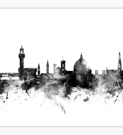 Florence Italy Skyline Sticker