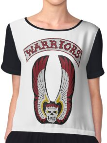 The Warriors Women's Chiffon Top