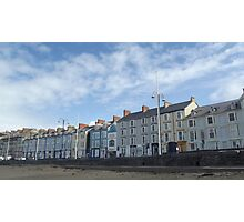 Aberystwyth, by the sea Photographic Print