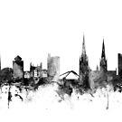 Coventry England Skyline by Michael Tompsett