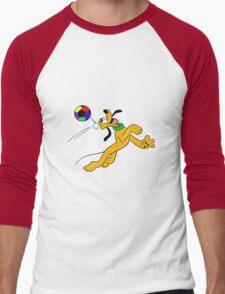 Pluto Play Football Men's Baseball ¾ T-Shirt