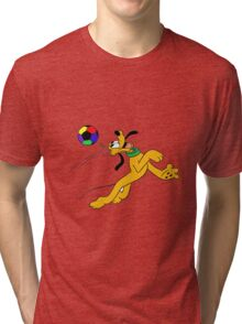 Pluto Play Football Tri-blend T-Shirt
