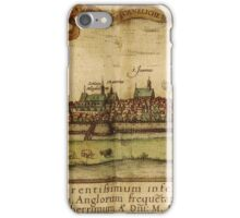 Hamburg Vintage map.Geography Germany ,city view,building,political,Lithography,historical fashion,geo design,Cartography,Country,Science,history,urban iPhone Case/Skin