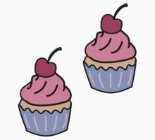 Cupcakes One Piece - Long Sleeve
