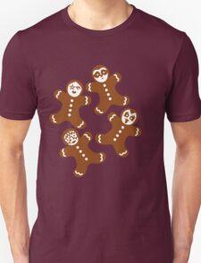 Lebkuchenmänner Unisex T-Shirt