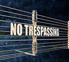 No Trespassing by morningdance