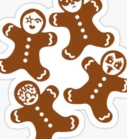 Lebkuchenmänner Sticker