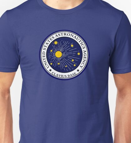 CLAVIUS MOON BASE - 2001 SPACE ODYSSEY Unisex T-Shirt