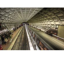 Smithsonian Metro Station Photographic Print