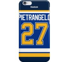 St. Louis Blues Alex Pietrangelo Jersey Back Phone Case iPhone Case/Skin