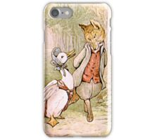 Jemima Puddleduck and the Fox iPhone Case/Skin