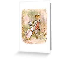 Jemima Puddleduck and the Fox Greeting Card