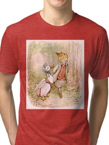 Jemima Puddleduck and the Fox Tri-blend T-Shirt