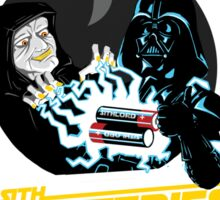 Sith Batteries Sticker