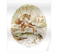 Mr. Jeremy Fisher by Beatrix Potter Poster