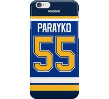 St. Louis Blues Colton Parayko Jersey Back Phone Case iPhone Case/Skin