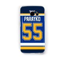 St. Louis Blues Colton Parayko Jersey Back Phone Case Samsung Galaxy Case/Skin