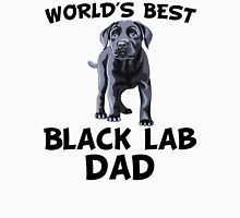 World's Best Black Lab Dad Unisex T-Shirt