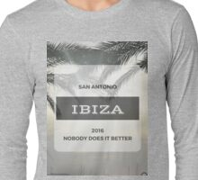 IBIZA 2016 - San Antonio Long Sleeve T-Shirt