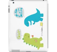 Di-NO, I'm Fasting (I'm Not Eating) iPad Case/Skin
