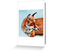Fox Look Out Greeting Card