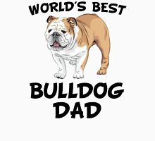 World's Best Bulldog Dad Unisex T-Shirt
