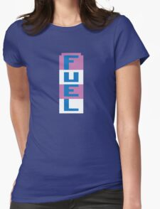 FUEL - RIVER RAID ATARI Womens Fitted T-Shirt