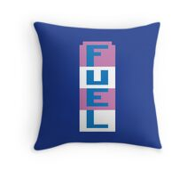 FUEL - RIVER RAID ATARI Throw Pillow