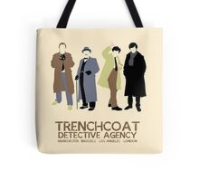 Trenchcoat Detective Agency Tote Bag