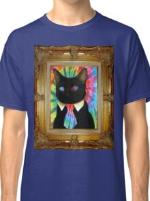 Psychedelic Business Cat Classic T-Shirt