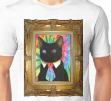 Psychedelic Business Cat Unisex T-Shirt