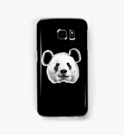 GIANT, PANDA, SMILEY, HAPPY, FACE, BEAR, WILDLIFE, ENDANGERED, Eco, Ecology, Nature Samsung Galaxy Case/Skin