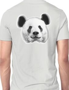 GIANT, PANDA, SMILEY, HAPPY, FACE, BEAR, WILDLIFE, ENDANGERED, Eco, Ecology, Nature Unisex T-Shirt