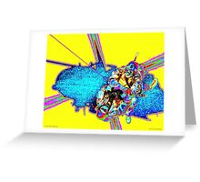 Code Yellow Rescue Greeting Card