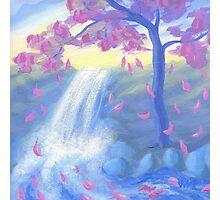 Sakura Falls Photographic Print
