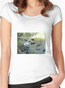 I Bis The King Of The Castle! Women's Fitted Scoop T-Shirt