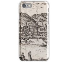 Bratislava Vintage map.Geography Slovakia ,city view,building,political,Lithography,historical fashion,geo design,Cartography,Country,Science,history,urban iPhone Case/Skin