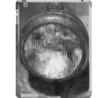 Old Headlamp II BW iPad Case/Skin