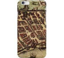 Bordeaux Vintage map.Geography France ,city view,building,political,Lithography,historical fashion,geo design,Cartography,Country,Science,history,urban iPhone Case/Skin