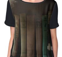 The Book Shelf Chiffon Top