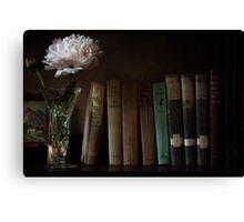 The Book Shelf Canvas Print