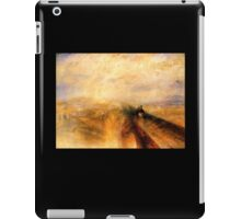 TURNER, Rain, Steam and Speed, GWR, Great Western Railway, Train iPad Case/Skin