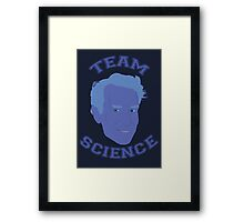 Team Science - Billy Nye Framed Print