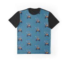Wall-e Hello Design Graphic T-Shirt